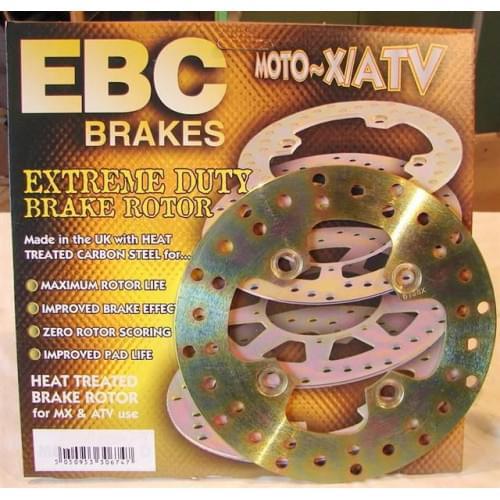EBC тормозной диск задний Yamaha Grizzly 700