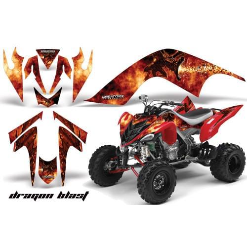 Графика для Yamaha Raptor 700 (Dragon Blast)