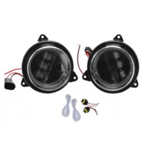 Комплект тюнинговых диодных LED фар ближнего света с ангельскими глазками Can-Am G2 Outlander /Renegade 710002191 RiderLAB FL85